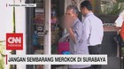 VIDEO: Jangan Sembarang Merokok di Surabaya