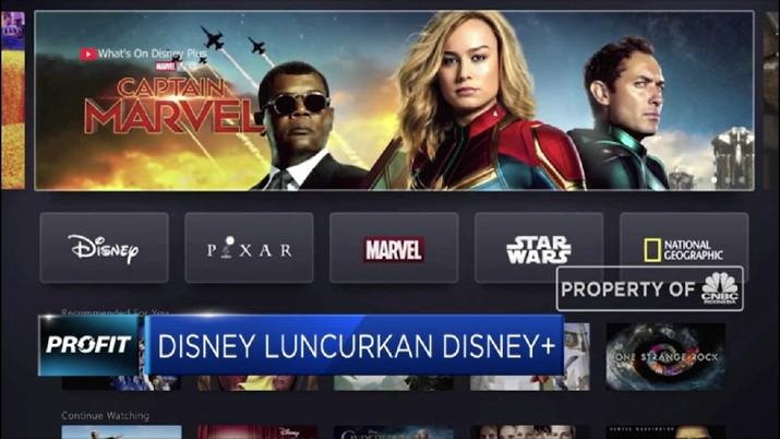 Disney Plus Resmi Meluncur, Akankah Netflix Tersingkir?