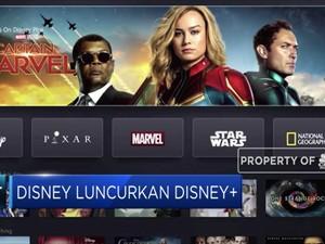 Saingi Netflix, Disney Luncurkan Disney+