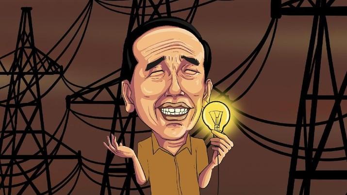 Digagas Presiden Joko Widodo, begini progres proyek kelistrikan 35 Ribu Megawatt