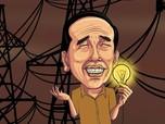 Jokowi Sambung Sumatra Lewat Tol Listrik