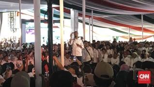 Jokowi Akui Suara di Bogor Turun, Posisi 50:50