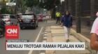 VIDEO: Jakarta Menuju Trotoar Ramah Pejalan Kaki