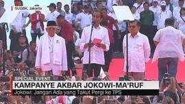 VIDEO: Kampanye Akbar Jokowi-Ma'ruf di SUGBK