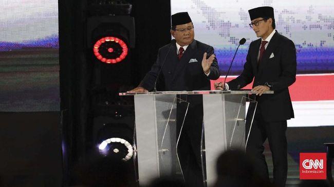 Sandi Sebut Pertumbuhan Ekonomi 5 Persen Jokowi 'Menjebak'