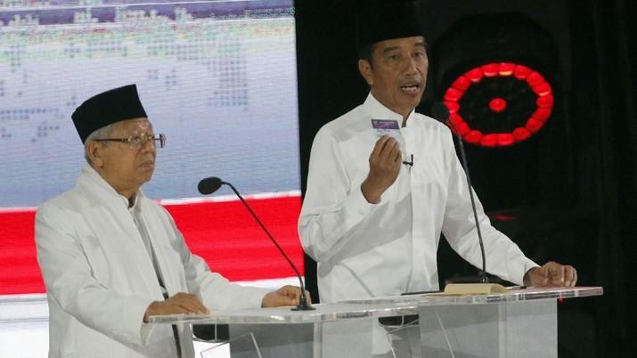 Calon Wakil Presiden pasangan nomor urut 01 Ma'ruf Amin akan terus melanjutkan pembangunan di bidang infrastruktur dan sumber daya manusia.