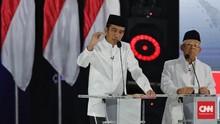 Real Count Sementara PDIP: Jokowi Unggul 63 Persen