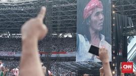 Saat Jokowi Bikin Slank Selawatan di Atas Panggung