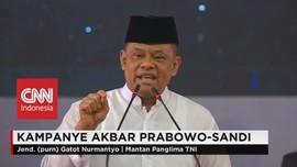 Gatot Nurmantyo Ungkap Ketimpangan Anggaran TNI dengan Polri