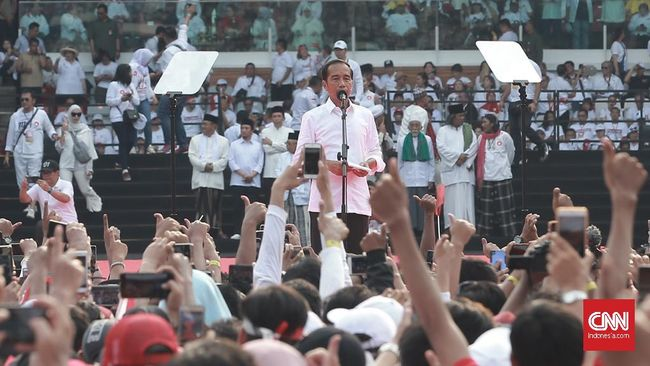 Jokowi Ucapkan Terima Kasih kepada Ketum Parpol Pendukung