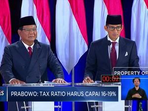Sengit, Ini Adu Argumen Jokowi dan Prabowo Soal Pajak