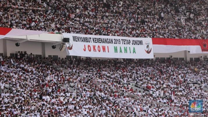 Slank Hingga Andien Ramaikan Kampanye Jokowi-Ma'ruf di GBK