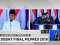 VIDEO: Jokowi Bahas e-Sport, Prabowo Fokus Kebutuhan Pangan