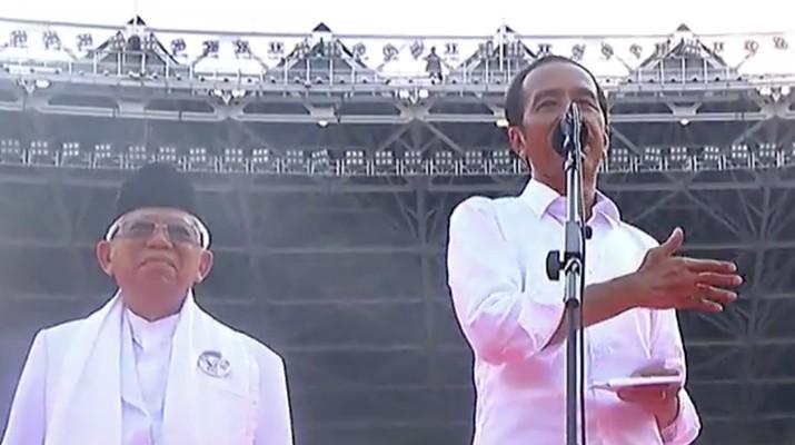 Jokowi menyatakan tidak memiliki beban masa lalu yang harus dipertanggungjawabkan.