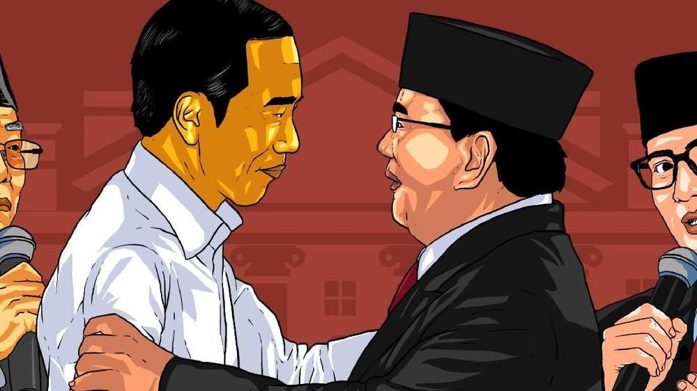 Debat Pamungkas Jokowi-Ma'ruf Vs Prabowo-Sandiaga