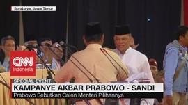 Hadir di Pidato Kebangsaan Prabowo, Gatot Disambut Hangat