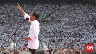 Hasil Tebar Kartu, Jokowi 'Skak Mat' Prabowo di Quick Count
