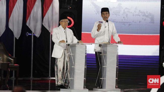 Jokowi Sindir Prabowo-Sandi Tak Paham Ekonomi Makro