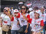Srikandi Cantik yang Mejeng di Kampanye Akbar Jokowi-Ma'ruf