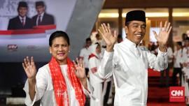 Didampingi Iriana, Jokowi Tiba di Lokasi Debat Terakhir