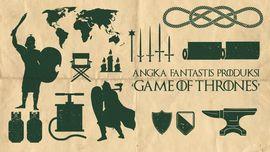 INFOGRAFIS: Angka Fantastis 'Game of Thrones'