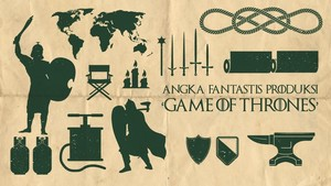 INFOGRAFIS: Angka Fantastis 'Game of Thrones'