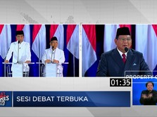 Prabowo Bicara Soal Elite, Jokowi Bahas Pemerataan Ekonomi