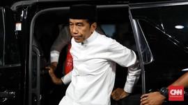 Jokowi Akan Temui TKN dan TKD di Istana Bogor Malam Ini