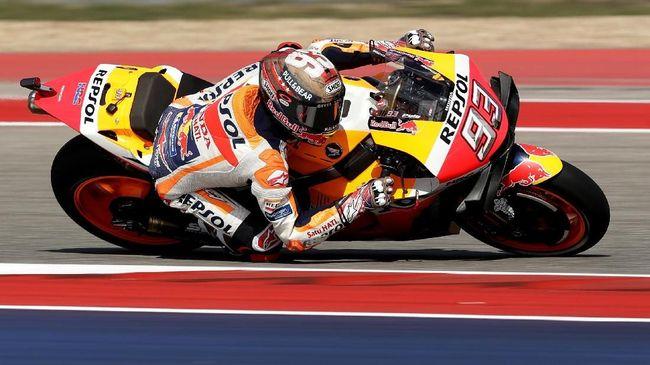 Banyak Petir, FP3 MotoGP Amerika Serikat Dibatalkan