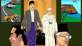 Kampanye Akbar Jokowi-Ma'ruf Amin