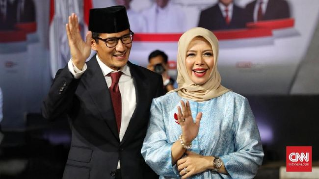 Sandiaga Soal Persiapan Debat Terakhir: 'OK and Smooth'