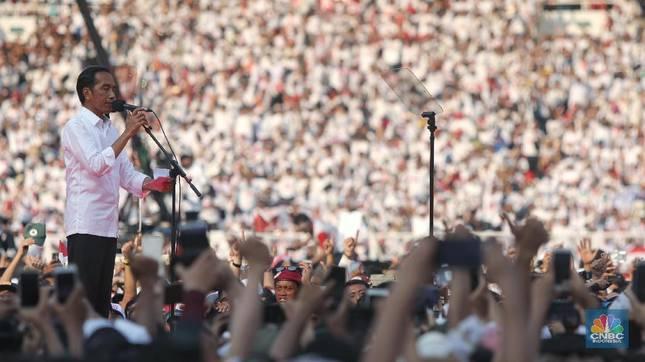 Jokowi Unggul di Pilpres, tapi Target IHSG Dipangkas! Kenapa?