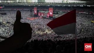 Jokowi di GBK: Ekonomi Indonesia Terkuat ke-4 Dunia 2045