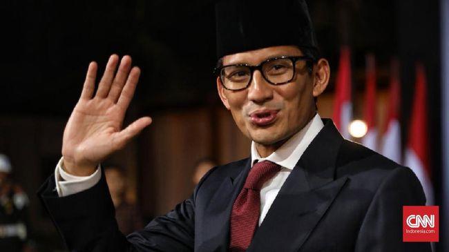 Sandiaga Uno Nilai Tim Pemantau Pencaci Jokowi Kurang Kerjaan