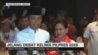 VIDEO: Presiden Jokowi Jelang Debat Kelima