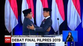 VIDEO: Janji Prabowo-Sandi Tak Ambil Gaji Bila Menang