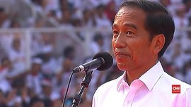VIDEO: Jokowi Pamer 'Tidak Memiliki Beban Masa Lalu'