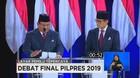 VIDEO: Closing Statement Jokowi-Maruf Vs Prabowo-Sandi (6/6)