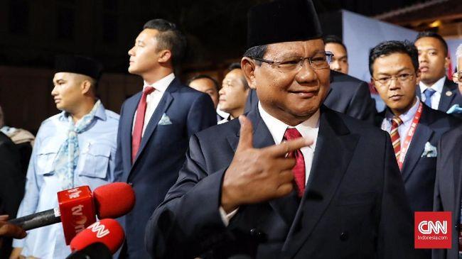 Raih 85,92 Persen, Prabowo Terlalu Kuat Bagi Jokowi di Sumbar