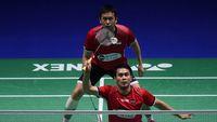 Hendra/Ahsan Runner-Up di Singapura Terbuka