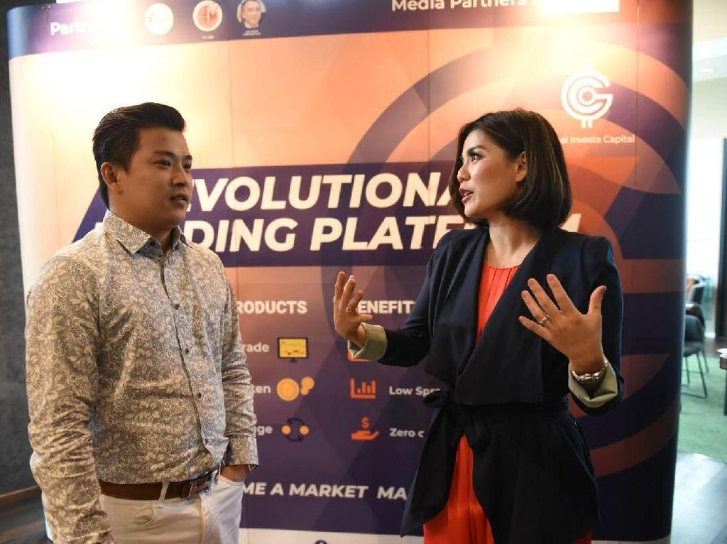 GIC Trade menggandeng Merry Riana sebagai Brand Ambassador guna meningkatkan kesadaran akan investasi demi kebebasan financial dengan cara yang inovatif. Istimewa.