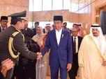 Berkunjung ke Arab, Jokowi Santap Siang dengan Raja Salman