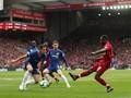 Liga Inggris: Liverpool vs Chelsea Imbang di Babak Pertama