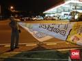 Spanduk Kampanye Masih Terpasang di Sejumlah Titik di Jakarta