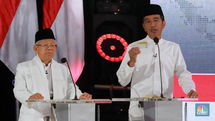 Tim Kampanye Nasional Joko Widodo (Jokowi) dan KH Ma'ruf Amin akan dibubarkan pada hari ini, Jumat (26/7/2019).
