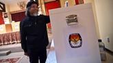 Pemilu 2019 sendiri bisa disebut sebagai pemilu bersejarah karena menjadi pertama kalinya pileg dan pilpres digelar bersamaan. (ANTARA FOTO/ Ramadian Bachtiar)