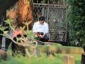Prabowo Tertunduk Khidmat di Pusara Makam Ayahnya