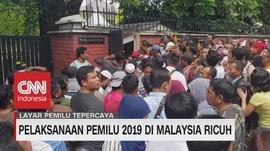 VIDEO: Pemilu di Malaysia Kacau, Pemilih Membludak di 3 TPS