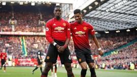 FOTO: Pogba Antar Man United Geser Arsenal di Liga Inggris
