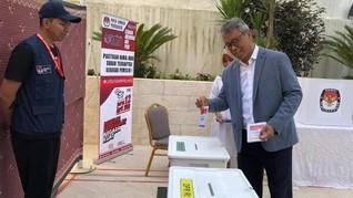 Suhu 39 Derajat Celsius, WNI di India Antusias Ikut Pemilu